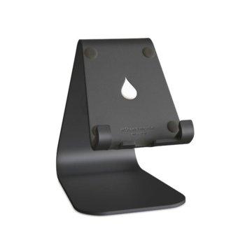 Стойка за таблет/телефон Rain Design mStand mobile, 81 х 111 х 124мм, черна image