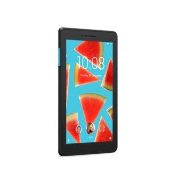 "Таблет Lenovo Tab E7 (ZA410037BG)(черен), 3G, GPS, 7"" (17.78 cm) WSVGA дисплей, четириядрен MediaTek MT8167A/D 1.3GHz, 1GB RAM, 8GB Flash памет (+ microSD слот), 2.0 & 0.3 Mpix камера, Android Oreo, 271.7g image"