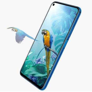 "Смартфон Huawei Nova 5T (Midsummer Purple), поддържа 2 sim карти, 6,26"" (15.90cm) IPS LCD дисплей, осемядрен Kirin 980 2,6 GHz, 6GB RAM, 128GB Flash памет, (48/16/2/2 MPix) основна камера, (32 MPix) предна камера, 174g image"