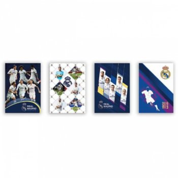 Тетрадка Real Madrid 28206, формат А5, oфсетова хартия, 42 листа, телчета image