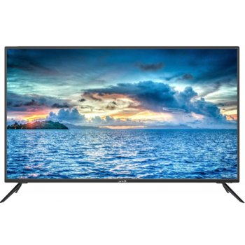 "Телевизор Arielli LED-5028UHD SMART, 50"" (127 cm) 4K Ultra HD, DVB-T2CS2, Wi-Fi, 3x HDMI, 2x USB image"