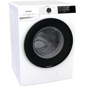 Пералня Gorenje WEI84CPS, клас A, 8 кг. капацитет на пералня, 1400 оборота, 16 програми, свободностояща, 60 cm ширина, защита от деца, SteamTech третиране с пара, бяла image