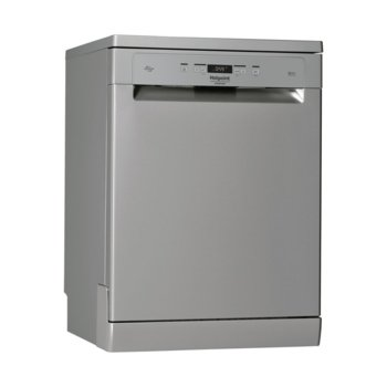 Съдомиялна Hotpoint-Ariston HFO 3C21 W C X, енергиен клас A++, 14 комплекта, 10 програми, светлинен индикатор за сол, инокс image