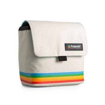 Чанта за фотоапарат Polaroid Box Camera Bag White, за Polaroid фотоапарати, бяла image