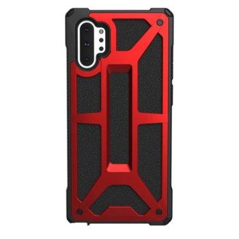 Калъф за Samsung Galaxy Note 10 Plus, хибриден, Urban Armor Monarch 211751119494, удароустойчив, червен image
