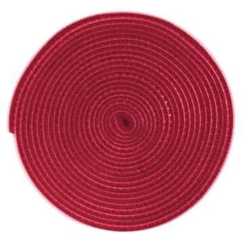 Лента за организиране на кабели Baseus Rainbow Circle Velcro Strap, 300 cm, велкро, червена image