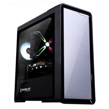 Кутия Zalman M3, Micro ATX/Mini-ITX, 1x USB 3.0, 2 вентилатора, черна, без захранване image