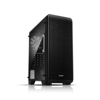 Кутия Zalman S2, ATX/mATX/Mini-ITX, USB 3.0, 1x 120mm вентилатор, черна, без захранване image