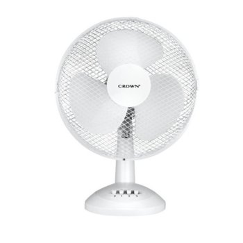 Настолен вентилатор Crown CF-1217, 3 скорости, 30 см. диаметър, 40W image