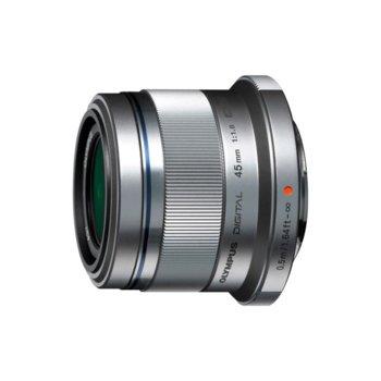 Обектив Olympus ZD Micro 45mm f/1.8 MSC (сребрист) за Olympus image