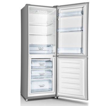 "Хладилник с фризер Gorenje RK4161PS4, клас A+, 238л. общ обем, свободностоящ, 234 kWh/годишно, NoFrost, режим ""Ваканция"", инокс image"