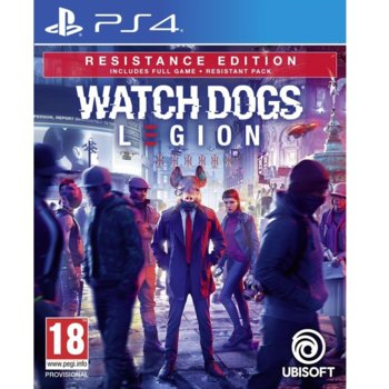 Watch Dogs: Legion - Resistance Edition PS4 product