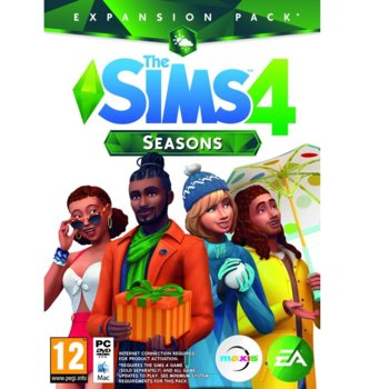 Игра The Sims 4 Seasons Expansion Pack, за PC image