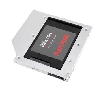 Конвертор Orico L127SS SATA към DVD, сребрист image