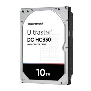 Твърд диск 10TB Western Digital DC HC330 (512e) TCG, SAS 12Gb/s, 7200 rpm, 256MB кеш, 3.5 (8.89cm) image