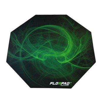 Постелка за под Florpad Venom (GAFM-032), 120cm x 120cm x 0.4cm, зелена image