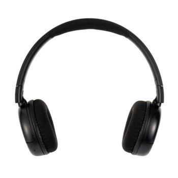 Слушалки BuddyPhones Pop 41196, жични/безжични, Bluetooth, AUX, детски, 32 ома, 85/94 dB, черни image