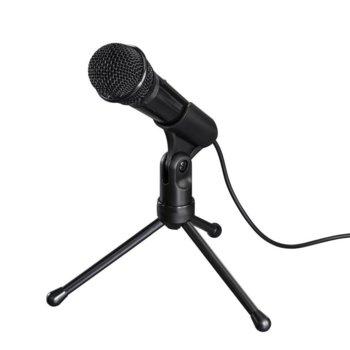 Микрофон Hama MIC-P35 Allround, трипод, 2.5m кабел, черен image