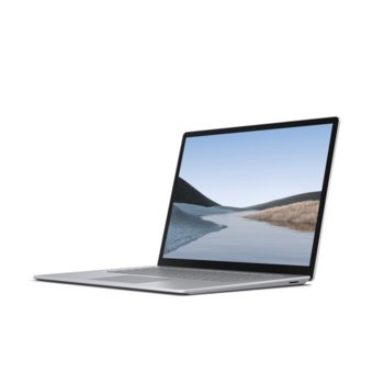 "Лаптоп Microsoft Surface Laptop 3 (V4G-00008)(сребрист), четириядрен AMD Ryzen 5 3580U 2.1/3.7GHz, 13.5"" (34.29 cm) WQXGA Touchscreen PixelSense Display, (USB-C), 8GB DDR4, 128GB SSD, 1x USB-A, Windows 10 Home image"