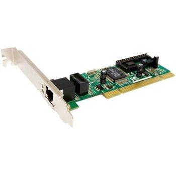 Мрежови адаптер Edimax EN-9235TX-32, 1000Mbps, PCI, с low profile планка image