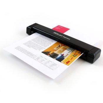 Преносим скенер IRIScan Express 4, 1200dpi, A4, USB image
