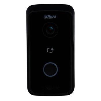 """Видеодомофон Dahua VTO2111D-P-S2, ICR 1/4"""" CMOS camera с вградена IR подсветка, H.264/G.711/WEB, 1x 10/100 Ethernet port, POE 802.3af, IP65 image"""