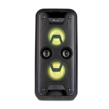 Тонколона NGS Wild Jam, 2.0, 120W, Bluetooth, AUX, USB, SD слот, FM, черна, безжична, до 6 часа време на работа, RGB подсветка image