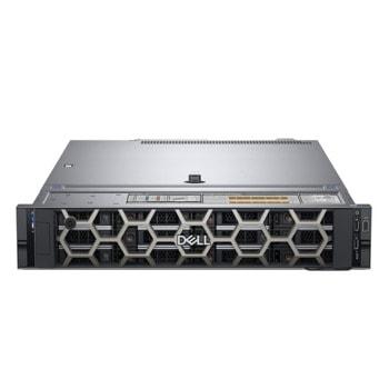 Сървър Dell EMC PowerEdge R540 (PER540WM01), осемядрен Cascade Lake Intel Xeon Silver 4208 2.1/3.2 GHz, 16GB RDIMM, 600GB HDD, без ОС, 495W Redundant PSU (1+1)  image