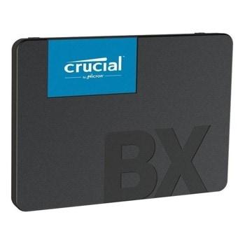 """Памет SSD 480GB Crucial BX500, SATA 6Gb/s, 2.5""""(6.35 cm), скорост на четене 540 MB/s, скорост на запис 500 MB/s image"""