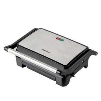 Сандвич скара Rohnson R-2103, незалепващо покритие, индикатор за включване и готовност за работа, 800W image