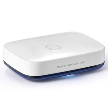 Bluetooth ресивър (приемник) One For All HD SV1820, до 3 макс. сдвоени у-ва, за смартфони, таблети и устройства притежаващи Bluetooth 3.0, Optical-in, AUX, бял image