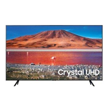 "Телевизор Samsung 75TU7072, 75"" (190.5 cm) LED, 4K Ultra HD Smart, DVB-T2CS2, Wi-Fi, Bluetooth, 2x HDMI, 1x USB image"