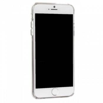 Калъф за Apple iPhone 6/6S/7 Plus, страничен протектор с гръб, поликарбонатов, CaseMate Barely There, прозрачен image