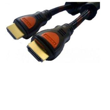 Кабел DeTech, от HDMI(м) към HDMI(м), 10m, черен image