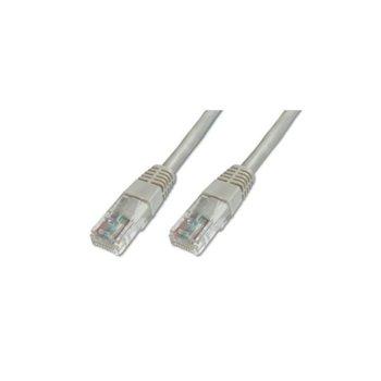 Пач кабел Assmann, F/UTP, Cat.5e, 10m, сив image