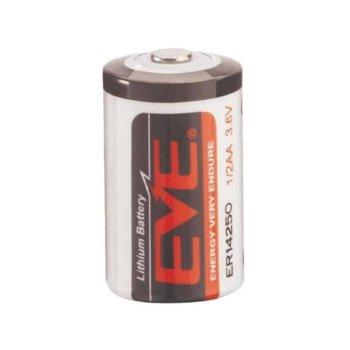 Литиева батерия EVE ER14250, 3.6V, 1200mAh, Li-ion, 1бр. image