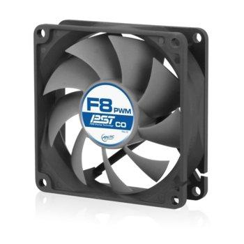 Вентилатор Arctic 80mm F8 PWM PST CO, 4-пинов, 2000 rpm image