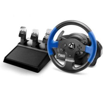 Волан с педали Thrustmaster Racing T150 PRO, 1080 градуса на въртене, за PC/PS3/PS4 image