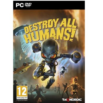 Игра Destroy All Humans!, за PC image