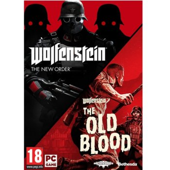 Игра Wolfenstein: The New Order + The Old Blood, за PC image
