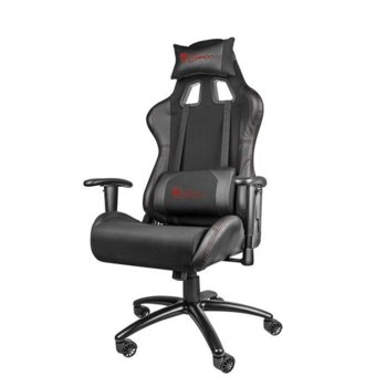 Геймърски стол Genesis Nitro 550, до 150кг. макс тегло, метална основа, черен image