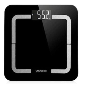 Електронен кантар Cecotec Precision 9500 Smart Healthy, капацитет 180 кг, Bluetooth, LCD дисплей, FourPrecision технология с 4 сензора, TenBIA метод за измерване, UserClever идентификация на до 8 потребители, функция BabyWeight, черен image
