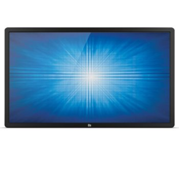 "Интерактивен дисплей ELO ET4602L-9UWA-0-MT-GY-G, 46""(116.84 cm), Full HD, Infrared multi touch, VGA, HDMI, DisplayPort, LAN, черен image"