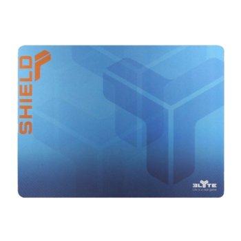 Подложка за мишка TnB Elyte Shield Gaming, гейминг, синя, 350 x 260 mm image