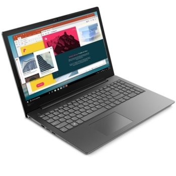 "Лаптоп Lenovo V130-15IGM (81HL0023BM), четириядрен Gemini Lake Intel Pentium N5000 1.1/2.7 Ghz, 15.6""(39.62 cm) HD Anti-Glare Display(HDMI), 4GB DDR4, 1TB HDD, Free DOS, 1.85 kg image"