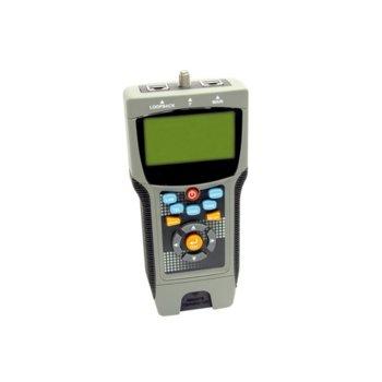 Тестер за кабели ROLINE 13.99.3002, за RJ-45 UTP/STP, Cat 5e/6/6e, LCD дисплей image