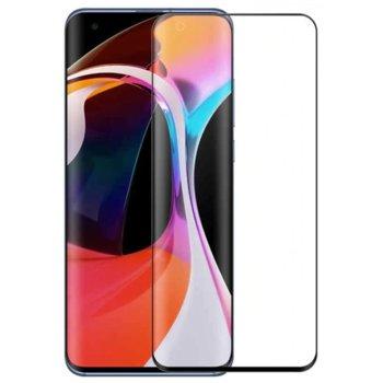 Протектор от закалено стъкло /Tempered Glass/ за Xiaomi Mi 10, 3D, 0.3mm, черен  image