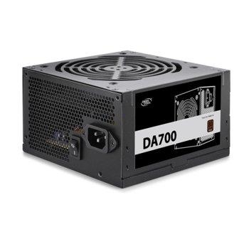 Захранване DeepCool DA700N, 700W, Active PFC, 80 Plus Bronze, 120mm вентилатор image