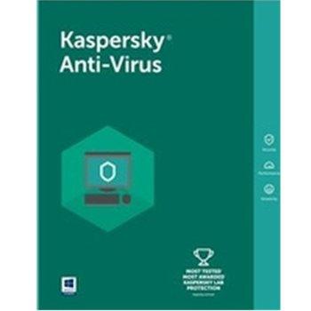 Софтуер Kaspersky Anti-Virus Eastern Europe Edition Renewal License Pack, лиценз за 1 година, 3 потребителя, Windows image