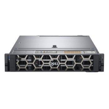 Сървър Dell PowerEdge R540 (PER540CEE02), осемядрен Skylake Intel Xeon Silver 4110 2.1/3.0 GHz, 16GB DDR4 RDIMM, 240GB SSD, 2x 1GbE LOM, 2x USB 3.0, без ОС, 1x 750W image